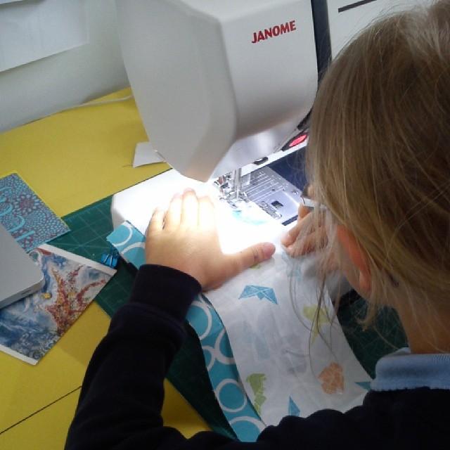 B sewing